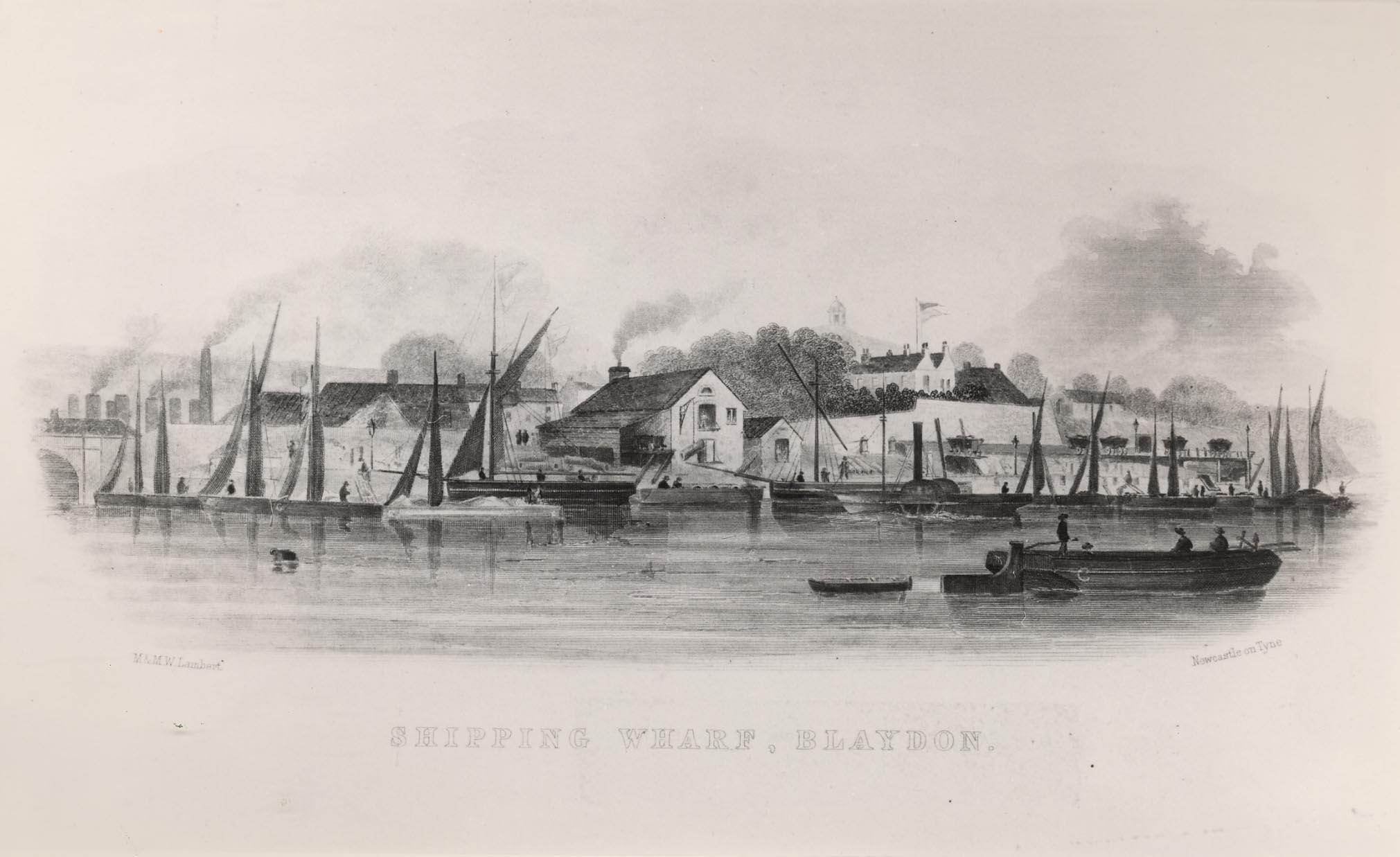 Blaydon Shipping Wharf